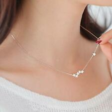 S925 Sterling Silver Star Necklace Pendant Christmas Birthday Gift for Wife