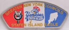 BSA SA-20 Greater NY Council GNYC Staten Island Yankee CSP SAP Eagle Scout Patch