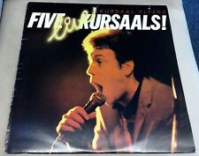 Kursaal Flyers Five Live Kursaals Vinyl Record LP CBS 82253