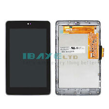 Full For Asus google nexus 7 LCD Touch Digitizer Screen Assembly +Frame Gen wifi