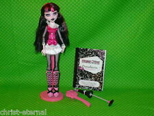 Monster High Doll DRACULAURA HIGH School's Out Doll with Clothes and Accessories