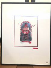 Martin Allen Can Art - Coca-Cola Jukebox in Large Alluminium Frame