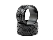 HPI 1/10 On Road 35mm LP35 Dunlop Le Mans LM703 T-Drifting Wheel Tyres (2) #4432