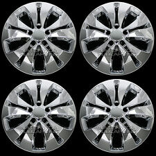 "4 New 2012-15 Honda CRV 17"" Chrome Wheel Skins Hub Caps Rim Covers Alloy Wheels"