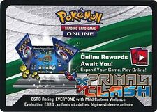 Pokemon TCG XY PRIMAL CLASH : VIRTUAL ONLINE CODE CARD X 50
