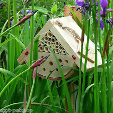 Bug Box Insect Habitat 200 FSC Mixed Sources Ladybirds Solitary Bees & Insects