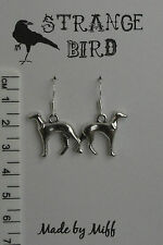 Grey(t)hound! earrings greyhound grey hound dog dogs puppy cute