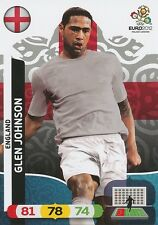 GLEN JOHNSON # ENGLAND CARD PANINI ADRENALYN EURO 2012