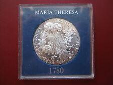 Austria 1780 María Teresa Teresa tálero re-Strike .833 Plata entubado de grado superior