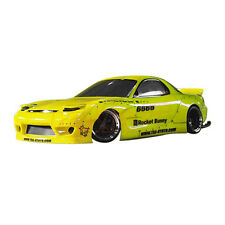 Addiction RC Cars MAZDA RX-7 Rocket Bunny Body Parts For ABC Hobby RX-7 #AD014-4