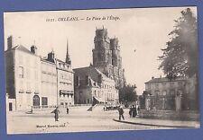 A507) Carte postale CPA ORLEANS LA PLACE DE L'ETAPE (Loiret 45)