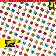 FUN HORNS - NATURAL MUSIC  CD  10 TRACKS MODERN JAZZ  NEU