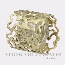 Authentic Chamilia 14KT Gold Golden Treasure Bead  LA-24   *RETIRED*