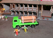 Majorette: HO Scale _ Ford Flatbed Delivery Truck w/ Pipe Load _ ** Must See **