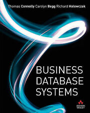 Connolly, Thomas-Business Database Systems  BOOK NEW