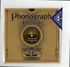 1920's Phonograph 3D greeting card  78rpm Record birthday, anniversary, wedding