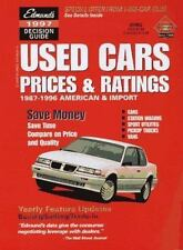 Edmund's Used Cars Prices & Ratings: Fall 1997 (Edmundscom Used Cars and Trucks