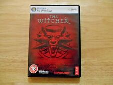 Witcher (PC, 2007) RPG Complete Includes CD Key
