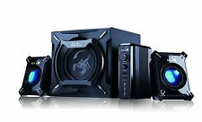 New Genius 45 Watt 2.1 Gaming Speaker System Computer Stereo PC Music Subwoofer