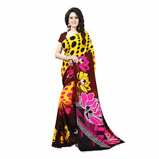 Varsha Fashions Beautiful Party Wear Premium Georgette Saree
