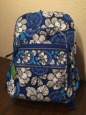 Vera Bradley Blue Bayou Campus Backpack NWT