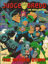 Judge Dredd The Mega Untold History Lennard Publishing Mike McMahon 1995