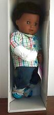 American Girl Bitty Twin BOY Doll with Black Textured Hair Brown Skin NEW 1 Doll