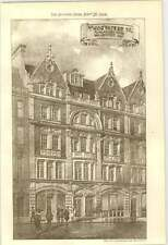 1906 45 And 47 Wigmore Street Frank Elgood Architect