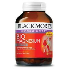 BEST PRICE! BLACKMORES MUSCULAR SUPPORT BIO MAGNESIUM 200 TABLETS