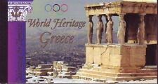 UNO NY gestempelt 2004 Markenheft  MiNr.   0-9  UNESCO-Welterbe Griechenland