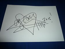 HIM VILLE VALO signed  Autogramm + ZEICHNUNG  20x30 cm Briefkarte In Person