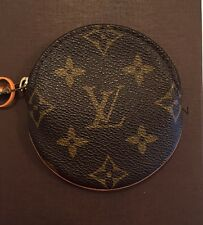 Auth LOUIS VUITTON Round Coin Purse Zip Pouch - Monogram Canvas