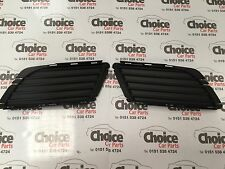 Vauxhall Corsa C Front Bumper N/S and O/S Corner Grilles 2004   PAIR