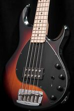 Ernie Ball Music Man StingRay 5 String Bass Sunburst w/ hard case Sting Ray
