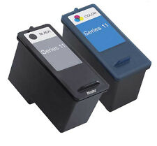 Non-OEM Fit For Dell V505 Ink Cartridges 11 Series BK+Color