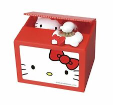Hello Kitty Electric Coin Money Saving Box Piggy Bank Japan