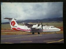 POSTCARD DE HAVILLAND DASH-7 AEROPLANE HAWAIIAN