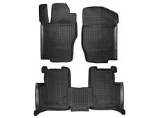 Mercedes-Benz ML W164 2005-2011 Rubber Car Floor Mats All Weather Custom Fit AMG