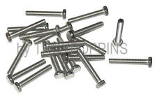20-SS #10-32 x 1-1/4 HH HEX HEAD FINE BOLTS MACHINE SCREWS STAINLESS STEEL 18-8