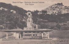 ROCCA DI PAPA - Funicolare stazione Inferiore