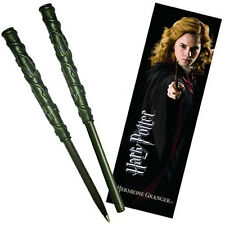 Harry Potter: Hermione Granger's Wand Pen & Bookmark Set - New In Sealed Pack