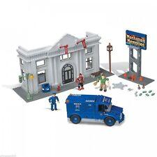 Mega Bloks Spiderman 3 – Sandman robo de banco -2004 Con Minifiguras