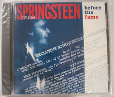 BRUCE SPRINGSTEEN BEFORE THE FAME RARE SINGLE DISC CD RELEASE - BRAND NEW