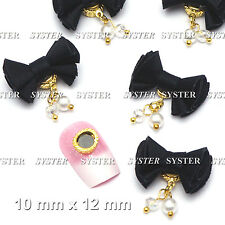 5 Pcs Fabric Magnet Jewelry 3D DIY Rhinestone Nail Art Decoration #SH-276K