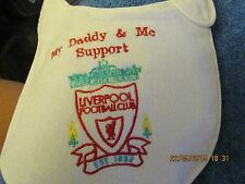 My Daddy and me support Liverpool baby bib
