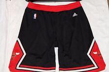 ADIDAS CHICAGO BULLS 2014 SWINGMAN NBA BASKETBALL HOME SHORTS,RETRO,SIZE:XL