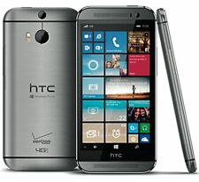 Verizon HTC One M8 4G LTE - 32GB - Gunmetal Smartphone For Windows Unlocked