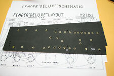Fender style fiber board circuit board for 5E3 amp build brass eyelets NEW