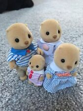 Sylvanian Families Sea Otter familia