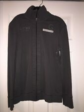 G STAR RAW DARK GREY ZIP UP LIGHT MENS JACKET SZ XXL(runs Small)